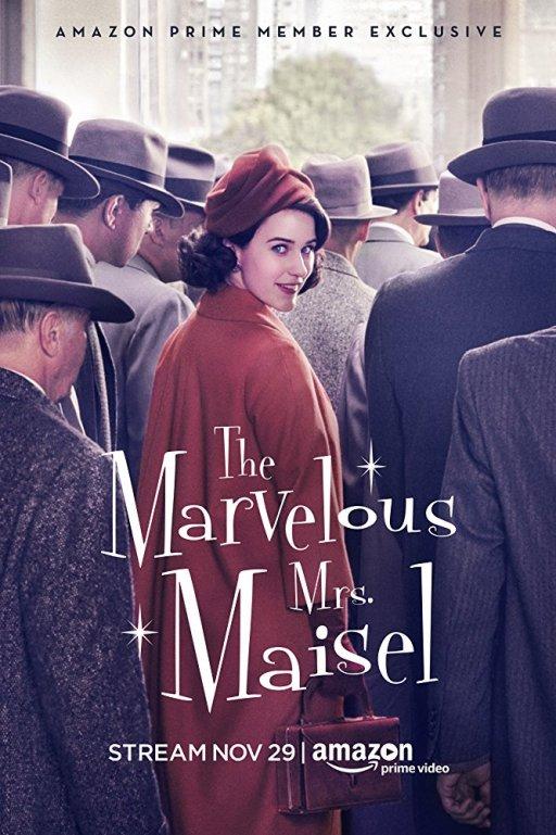 The Marvelous Mrs. Maisel (2017) Cover